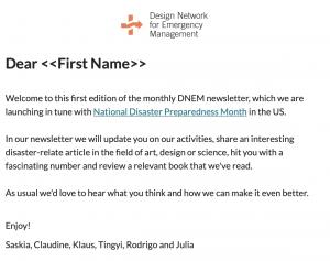 DNEM newsletter September 2019