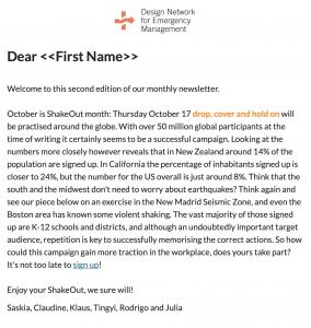 DNEM newsletter October 2019
