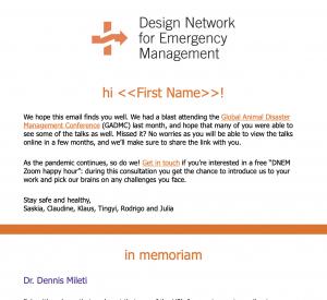 DNEM Newsletter March 2021