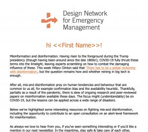 DNEM Newsletter May 2021
